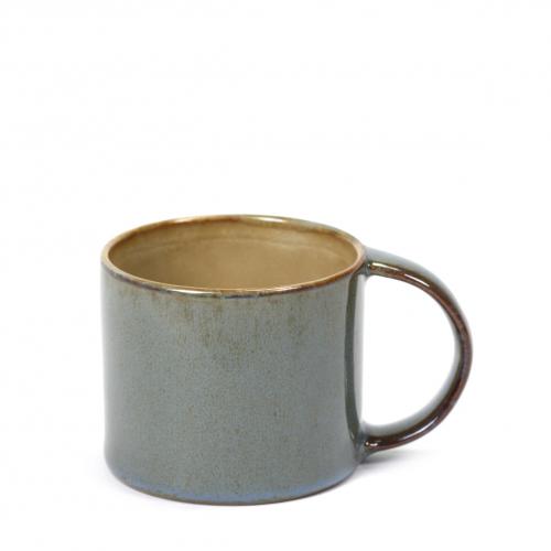 Espressobeker diam 6cm kleur misty grey smokey blue