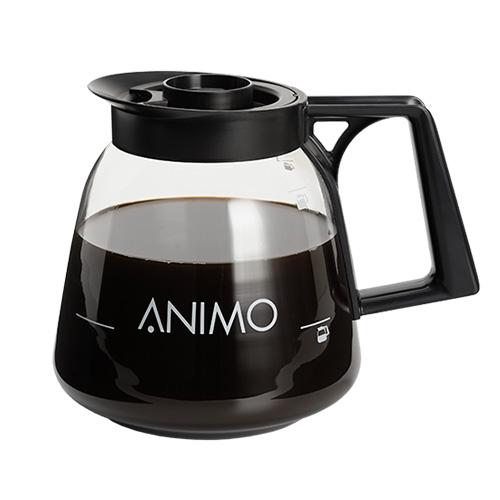 Glazen kan thee koffie vuldeksel Animo 08208