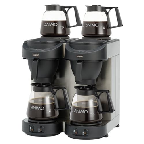Koffiezetapparaat M102 zwart Animo 10512