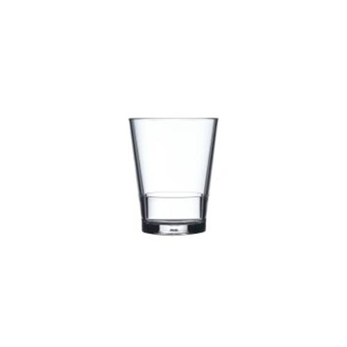 Glas flow 200 ml helder Mepal