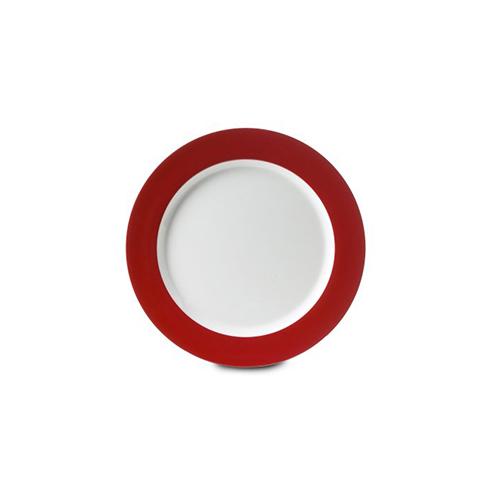 ontbijtbord wave 230 mm luna rood Mepal