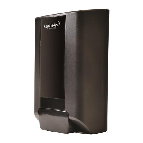 Desinfectiedispenser handbediening 1.3l wandmodel zwart