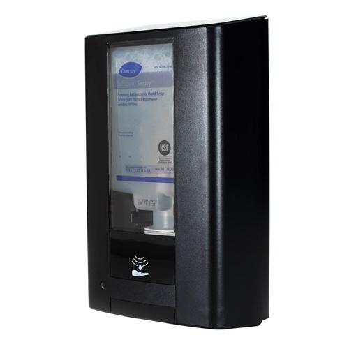 Desinfectiedispenser sensorbediening 1.3l wandmodel zwart