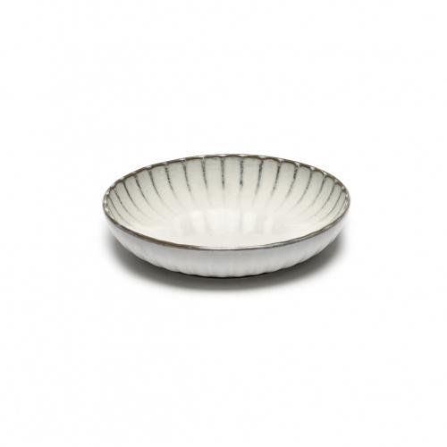 Hoog bord s wit inku inku tableware by sergio herman