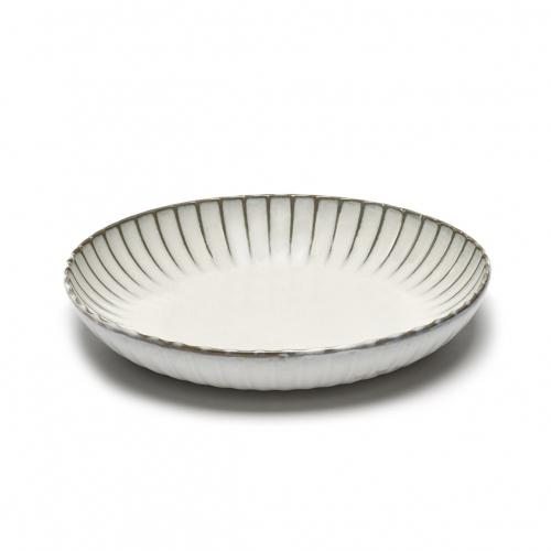 Serveerkom s wit inku inku tableware by sergio herman