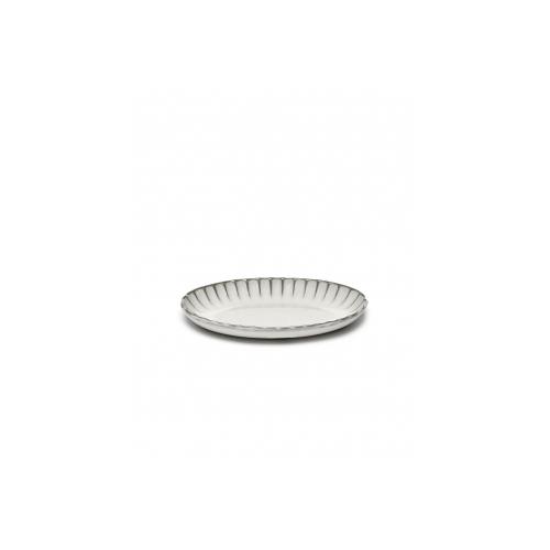 Serveerkom ovaal wit H2,7 inku tableware by sergio herman