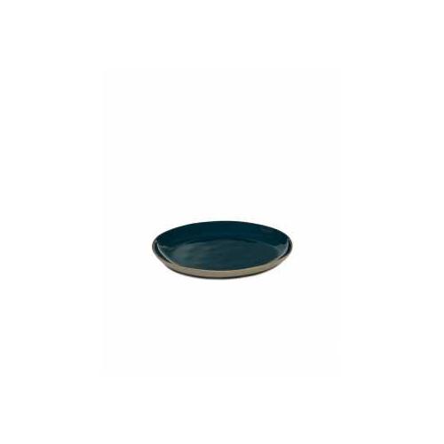 Bord XL blauw RURAL Tableware By Anita Le Grelle