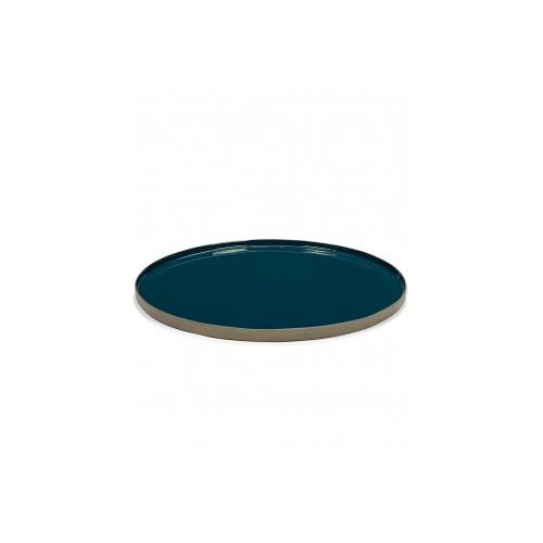 Serveerschaal blauw RURAL Tableware By Anita Le Grelle