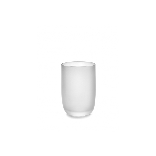 Glas frosted wit Base Glassware By Piet Boon