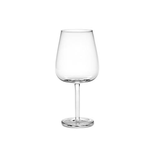 Rode wijnglas gebogen Base Glassware By Piet Boon