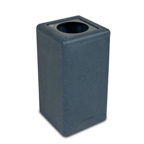 Afvalbak circulaire inh 65l waste grijs brickbin