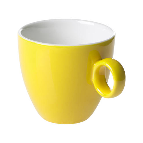 Koffiekop inh 17cl model 928 kleur geel Bart Maastricht Porselein