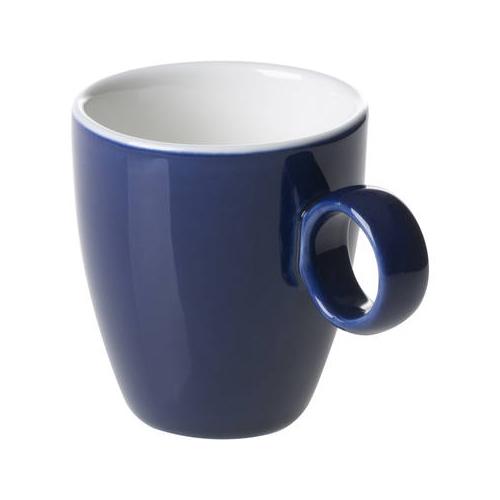 Espressokop inh 6.5cl model 925 kleur blauw Bart Maastricht Porselein