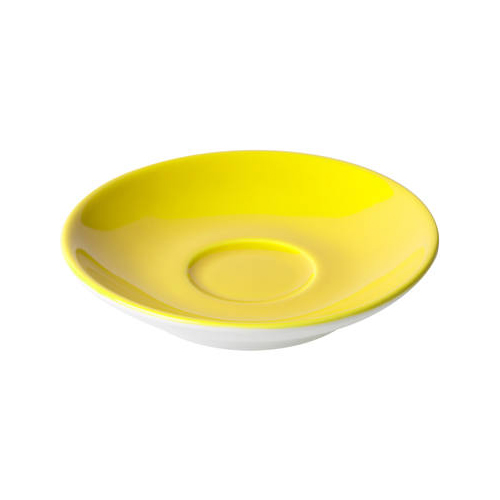 Espressoschotel diam 11cm model 919 kleur geel Bart Maastricht Porselein