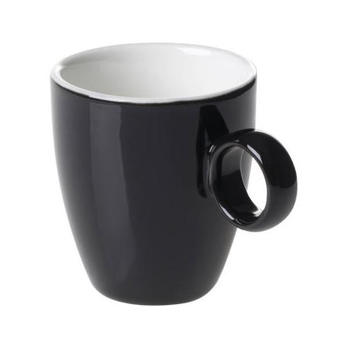 Espressokop inh 6.5cl model 925 kleur zwart Bart Maastricht Porselein