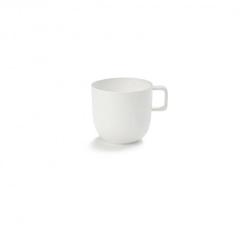 Koffiekop met oor 28 cl semi geglazuurd serax servies base piet boon