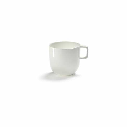 Koffiekop met oor 28 cl geglazuurd serax servies base piet boon