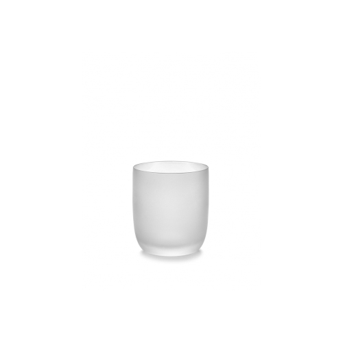Glas frosted wit klein Base Glassware By Piet Boon