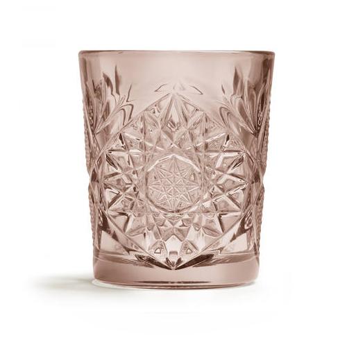 Borrelglas hobstar roze 35cl libbey