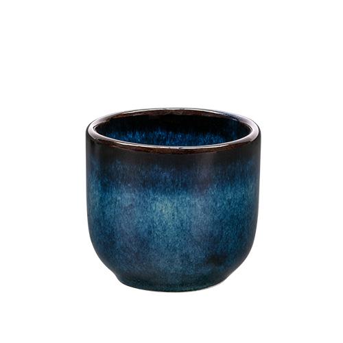 Koffiekop inh 15cl Indigo Blue KAITO Stoneware