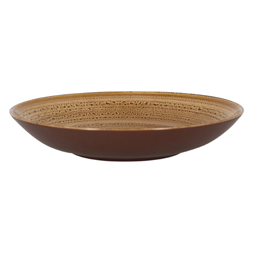Coupebord diep diam 30cm shell twirl rak porcelain