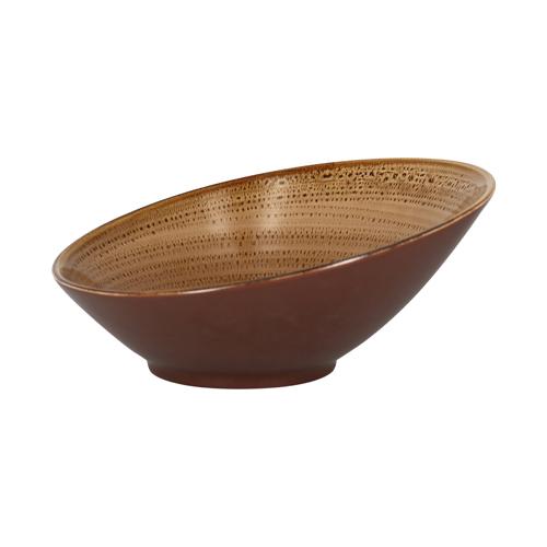 Schaal inh 1.60ltr shell twirl rak porcelain