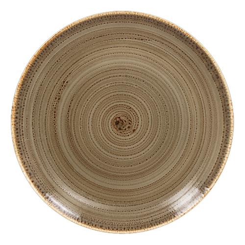 Coupebord plat diam 29cm alga twirl rak porcelain