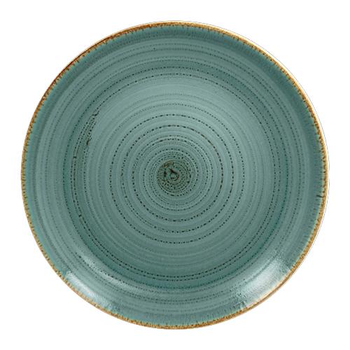 Coupebord plat diam 29cm lagoon twirl rak porcelain