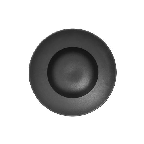 Bord diep rond diam 230mm black neofusion rak