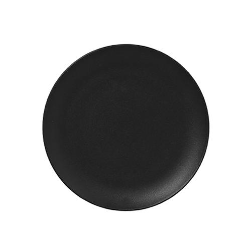 Bord plat diam 150mm black neofusion rak