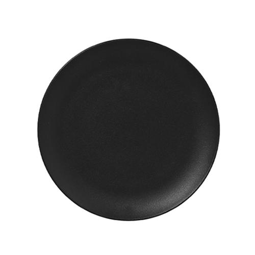 Bord plat diam 180mm black neofusion rak