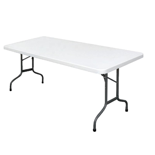 Tafel inklapbaar wit afm 183x65x74