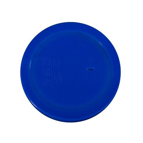 Dinner deksel diam 13cm blauw