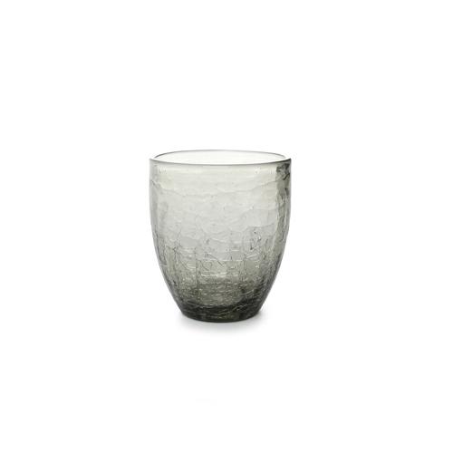 Glas crackle 25cl grijs f2h