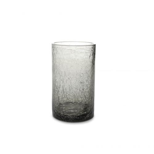Glas crackle 40cl grijs f2h