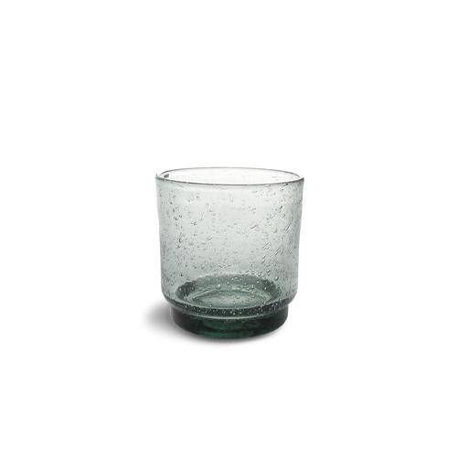 Glas kolon 38cl groen f2h