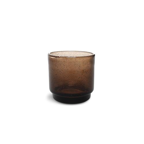 Glas kolon 38cl bruin f2h