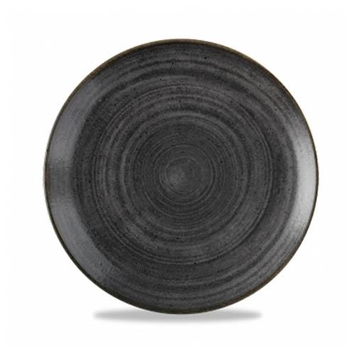 Coupebord 26CM Stonecast raw black