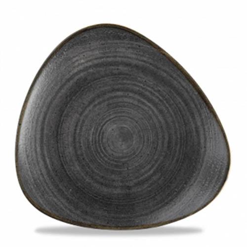 Coupebord 22.9CM Stonecast raw black