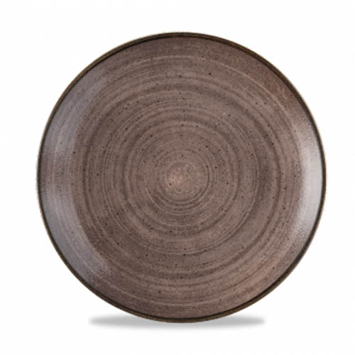 Coupebord 26CM Stonecast raw brown