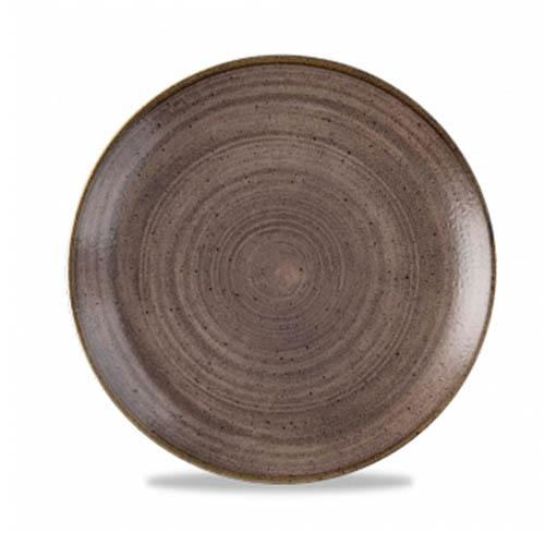 Coupebord 21.7CM Stonecast raw brown