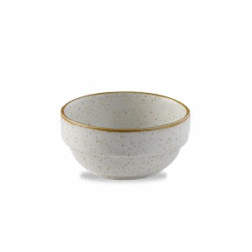 Kom 11.5CM 36CL Stonecast Barley white