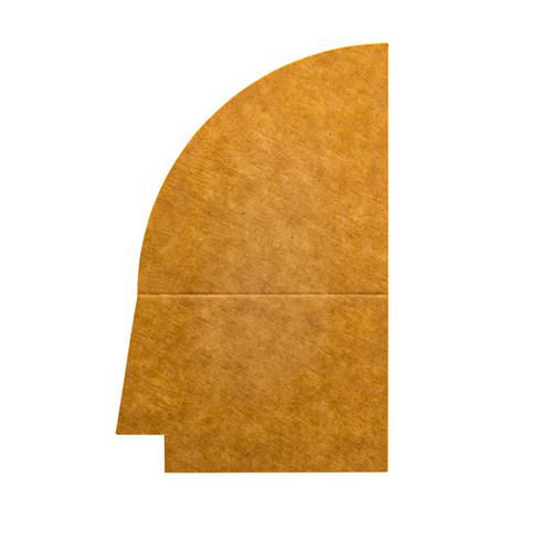 4 vaks papieren deksel pet verdeler 500ML 250st