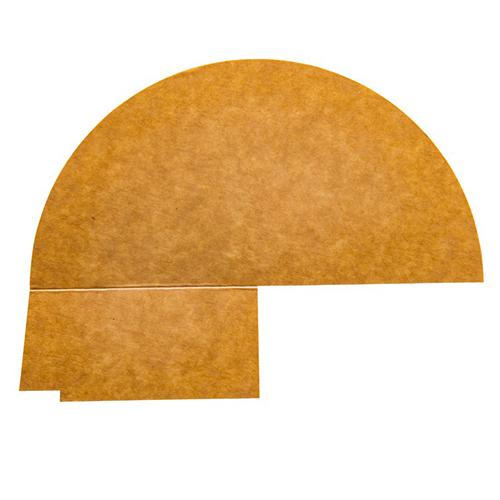 3 vaks papieren deksel verdeler 900ML 250st