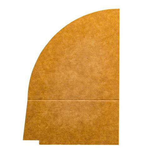 4 vaks papieren deksel verdeler 900ML 250st