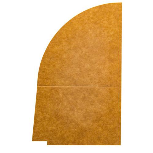 4 vaks papieren deksel verdeler 1300ML 250st