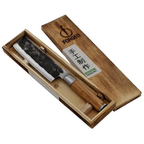 Hakbijl lemmet 17cm olive forged laguiole