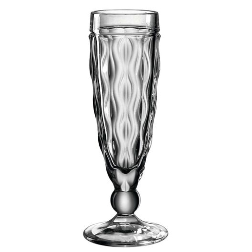 Champagneglas brindisi 14cl antraciet leonardo