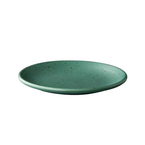 Bord diam 15cm tinto mat groen q authentic