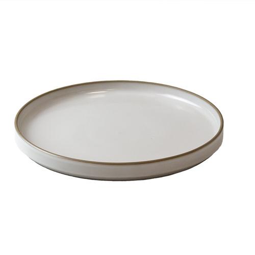 Bord laag diam 23cm japan wit q authentic